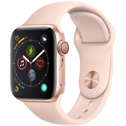 Apple Watch Series 4 Gold Sport Band