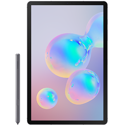 Samsung Galaxy Tab S6 front view