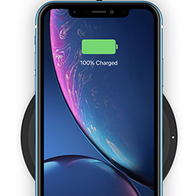 5W charging for Qi-enabled phones