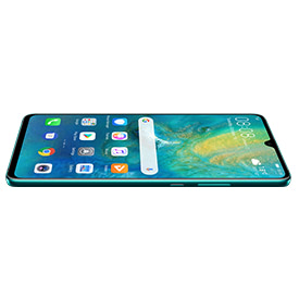 Huawei Mate 20 X 5G, front of device