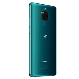 Huawei Mate 20 X 5G, back of device