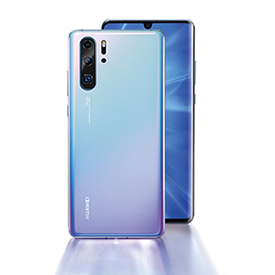 Huawei P30 Pro Breathing Crystal, back of device