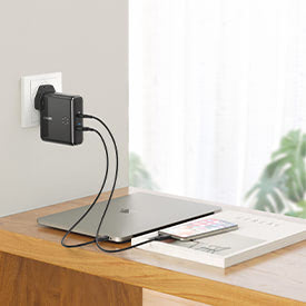 Anker PowerCore Fusion Battery Pack and Wall Charger
