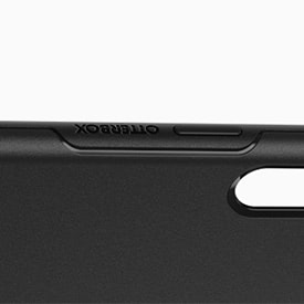 Raised edge to protect your screen
