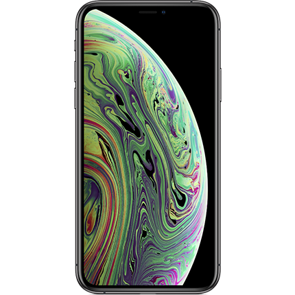 iPhone Xs in Space Grey