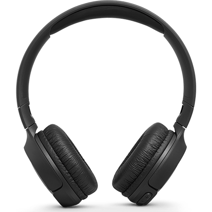 JBL T500BT headphones front view