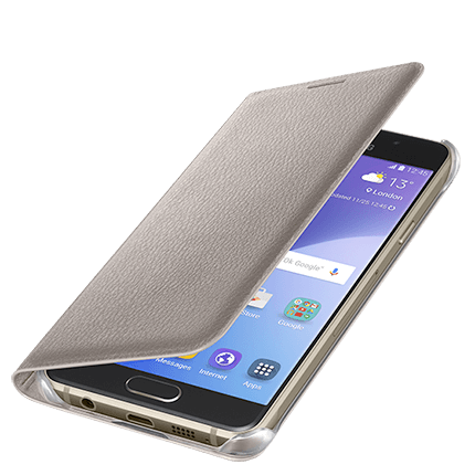 buy online 5fa99 4e33e Samsung Galaxy A3 Flip Wallet Cover - accessories from O2