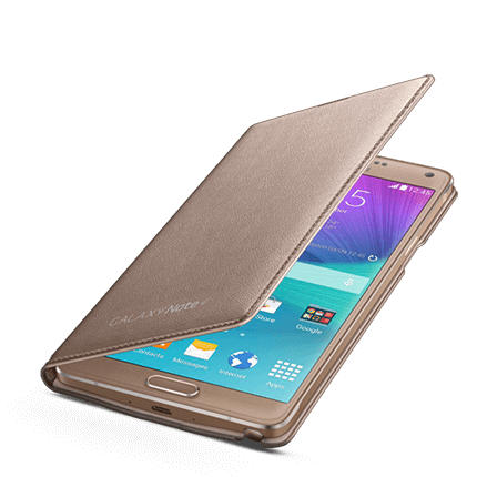 cover samsung note 4 led