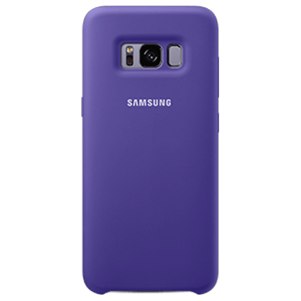 S8 Plus Original Silicone Cover Violet