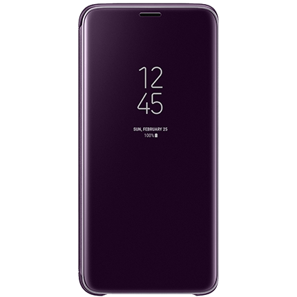 Samsung S9 Plus Original Clear View Stand Cover