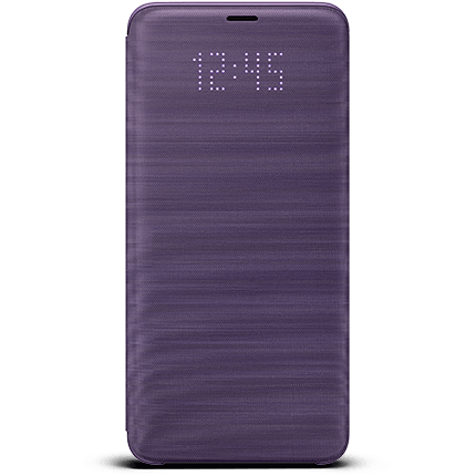 Galaxy S9 Plus Original LED Cover Purple