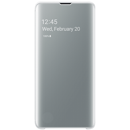 Galaxy S10 Original Clear View Cover White