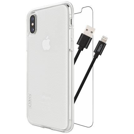 Skech iPhone Xs and X Protection 360 Plus Bundle Pack O2