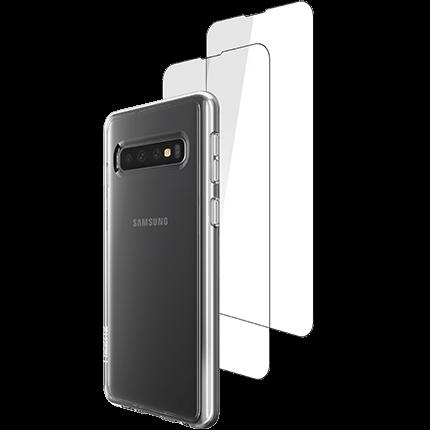 Skech Samsung S10 Protection 360 Bundle - accessories