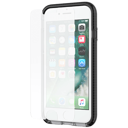 pretty nice 505ed 16094 Tech21 iPhone 8 and 7 Evo Check Case and Screen Protector Bundle ...