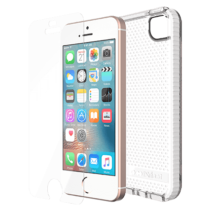hot sales 1acc1 129d3 Tech21 iPhone 5s and SE Evo Mesh and Impact Shield Bundle Pack ...