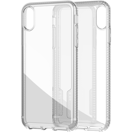 premium selection c0ce5 d72a1 Tech21 iPhone Xs Max Pure Clear Case - accessories from O2