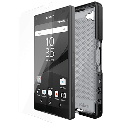 Tech21 Sony Xperia Z5 Compact Evo Check Smokey and Impact