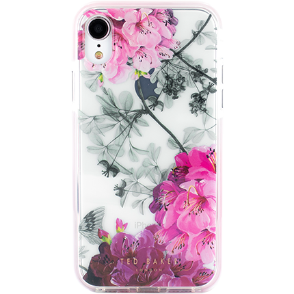 outlet store 7ae3d c090f Ted Baker iPhone XR Babylon Nickel Floral Case - accessories from O2