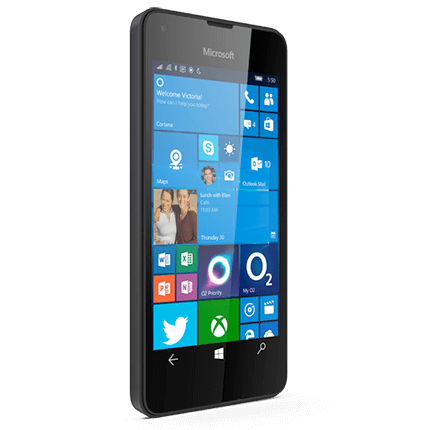 Microsoft Lumia 550 - Specs, Contract Deals & Pay As You Go