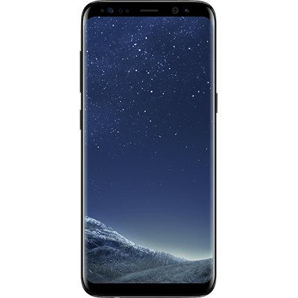 Galaxy S8 64GB Midnight Black Like new