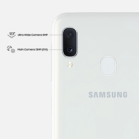 Samsung Galaxy A20e camera