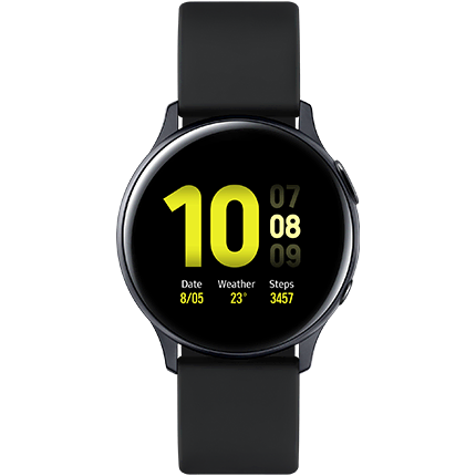 Galaxy Watch Active2 40mm - Black - Aluminium